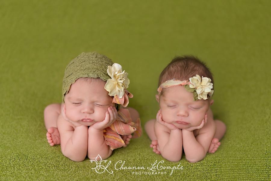 Fort worth baby photographer beautiful twin baby girls dallas